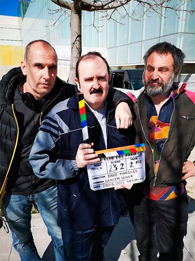 ✶ Madrid acoge el rodaje de 'El club del paro', comedia dirigida por David Marqués
