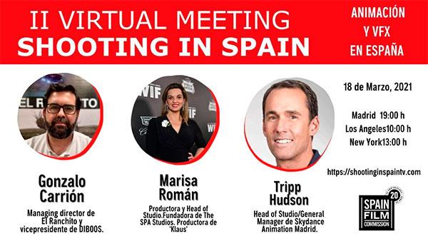 Animación y VFX en España centran el encuentro virtual de Spain Film Commission